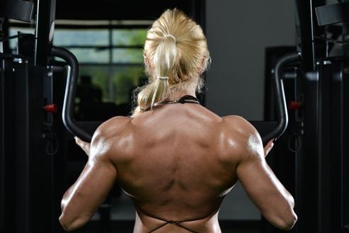female muscle building program